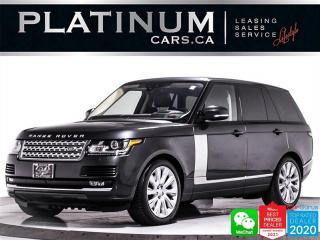 Used 2017 Land Rover Range Rover Supercharged, 510HP, NAV, CAM, MERIDIAN | for sale in Toronto, ON