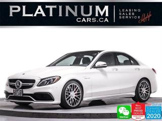 Used 2018 Mercedes-Benz C-Class AMG C63 S, 503HP, NAV, DISTRONIC PLUS, DRIVING PKG for sale in Toronto, ON