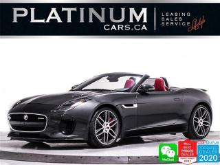 Used 2018 Jaguar F-Type R-Dynamic, P380, SUPERCHARGED, SPORT SEATS, NAV for sale in Toronto, ON
