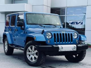 Used 2014 Jeep Wrangler Unlimited Sahara for sale in Kingston, ON