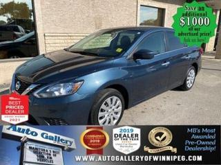 Used 2016 Nissan Sentra S* Automatic Transmission/Bluetooth/AC for sale in Winnipeg, MB