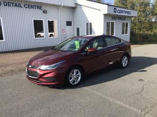 Used 2016 Chevrolet Cruze LT for sale in Amherst, NS