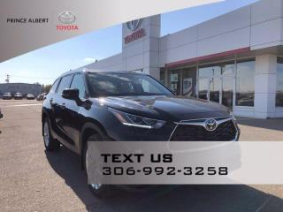 New 2021 Toyota Highlander LIMITED  for sale in Prince Albert, SK