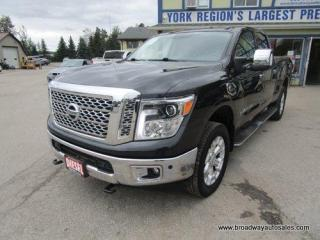 Used 2016 Nissan Titan XD LOADED SL-XD-EDITION 5 PASSENGER 5.0L - CUMMINS DIESEL.. 4X4.. CREW-CAB.. SHORTY.. TRAILER BRAKE.. NAVIGATION.. LEATHER.. HEATED SEATS.. for sale in Bradford, ON