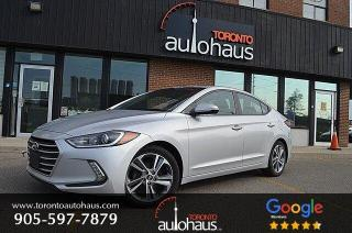 Used 2017 Hyundai Elantra GLS I SUNROOF I NO ACCIDENTS for sale in Concord, ON