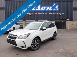 Used 2017 Subaru Forester XT Touring, Sunroof, Split Leather, Power Liftgate & Much More! for sale in Guelph, ON