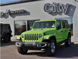 New 2021 Jeep Wrangler V6 | Cold Weather group | Gecko Exterior#81 for sale in Medicine Hat, AB