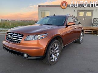 Used 2004 Infiniti FX45 AWD LEATHER, SUNROOF,  BACKUP CAM for sale in Calgary, AB