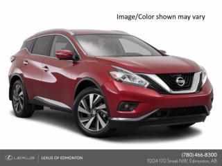 Used 2016 Nissan Murano PLATINUM  CVT for sale in Edmonton, AB