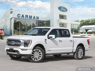 New 2021 Ford F-150 Limited  for sale in Carman, MB