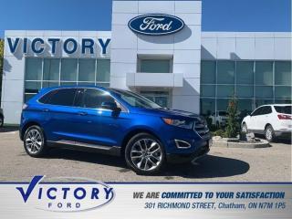 Used 2018 Ford Edge Titanium | AWD | NAV | PANO SUNROOF | ADAPTIVE CRU for sale in Chatham, ON