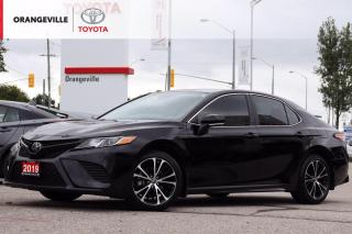 Used 2019 Toyota Camry LOW KMS!! SE, HEATED SEATS, SUNROOF, APPLE CARPLAY, LANE KEEPING ASSIST, ADAPTIVE CRUISE CONTROL for sale in Orangeville, ON