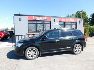 Used 2015 Dodge Journey R/T | Leather | Sunroof | DVD | NAV | 7 Pass for sale in St. Thomas, ON