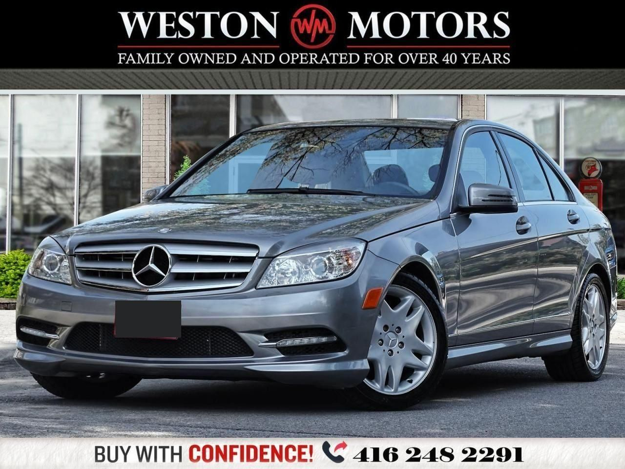2011 Mercedes-Benz C-Class C250*LEATHER*SUNROOF*