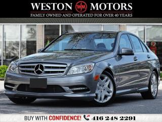 Used 2011 Mercedes-Benz C-Class C250*LEATHER*SUNROOF* for sale in Toronto, ON