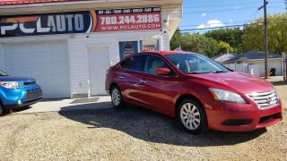 Used 2013 Nissan Sentra S for sale in Edmonton, AB