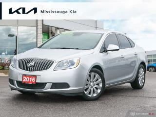 Used 2016 Buick Verano ONLY 49,000KM! LEATHER! ALLOYS! FULLY SERVICED! CLEAN CARFAX! for sale in Mississauga, ON
