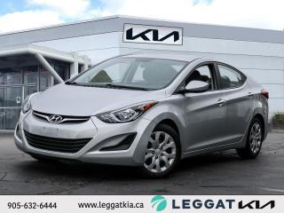Used 2014 Hyundai Elantra GL for sale in Burlington, ON