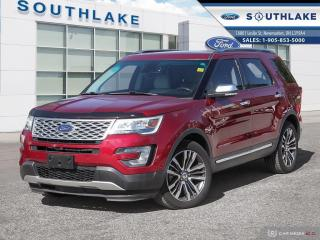 Used 2016 Ford Explorer Platinum for sale in Newmarket, ON