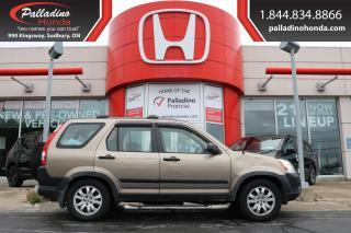 Used 2006 Honda CR-V - SELF CERTIFY - for sale in Sudbury, ON
