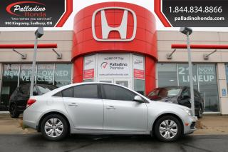 Used 2015 Chevrolet Cruze 1LT for sale in Sudbury, ON