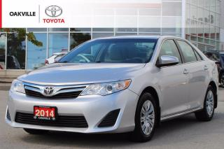 Used 2014 Toyota Camry LE with New Tires and Rear Brakes for sale in Oakville, ON