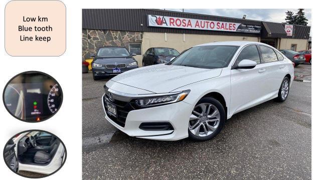 2018 Honda Accord AUTO LOW KM NO ACCIDENT LANE KEEP ANIT COLIOSION B