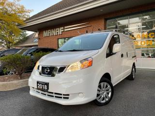 Used 2018 Nissan NV200 I4 SV Automatic Navi. Rear Cam Park Assist Certi* for sale in Concord, ON