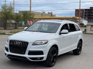 Used 2013 Audi Q7 3.0L  S Line AWD NAVIGATION /PANORAMIC SUNROOF for sale in North York, ON