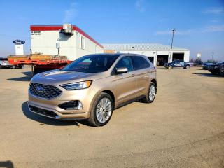 New 2021 Ford Edge Titanium for sale in Carlyle, SK