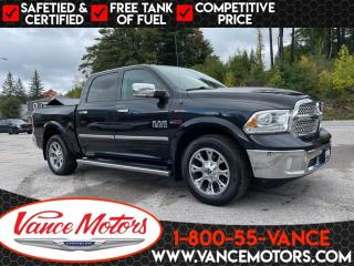 Used 2016 RAM 1500 Laramie 4x4...ECODIESEL*LEATHER*COOLED SEATS! for sale in Bancroft, ON