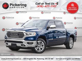 Used 2021 RAM 1500 Longhorn - SUNROOF/AIR SUSPENSION/RAM BOXES for sale in Pickering, ON