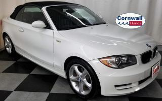 Used 2009 BMW 1 Series 128i - Clean CarFax, RWD for sale in Cornwall, ON