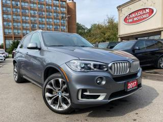 Used 2017 BMW X5 ONE OWNER | NAVI | CAM | PANO | HARMAN/KARDON | AWD | for sale in Scarborough, ON