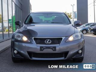 Used 2012 Lexus IS 250 4DR SDN AWD  - Low Mileage for sale in Toronto, ON