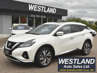 Used 2019 Nissan Murano SL AWD for sale in Pembroke, ON