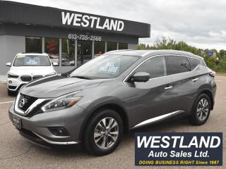 Used 2018 Nissan Murano SL AWD for sale in Pembroke, ON