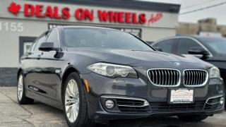 Used 2014 BMW 5 Series 528i xDrive for sale in Oakville, ON