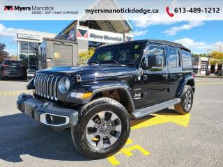 Used 2019 Jeep Wrangler Unlimited Sahara  - Uconnect - $324 B/W for sale in Ottawa, ON