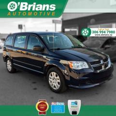 Used 2014 Dodge Grand Caravan SE w/Command Start, Third-row Seats, Cruise Control, A/C for sale in Saskatoon, SK