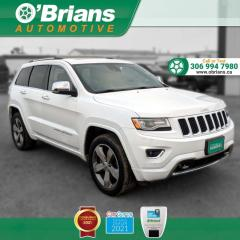 Used 2015 Jeep Grand Cherokee Overland w/Leather, 4x4 for sale in Saskatoon, SK