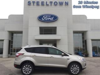 Used 2017 Ford Escape Titanium  - Leather Seats -  Bluetooth for sale in Selkirk, MB