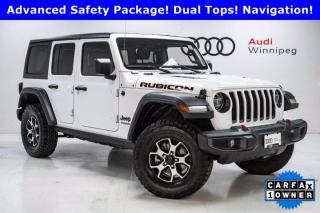 Used 2020 Jeep Wrangler Unlimited Rubicon w/Cold Weather & LED Lighting *Local* for sale in Winnipeg, MB