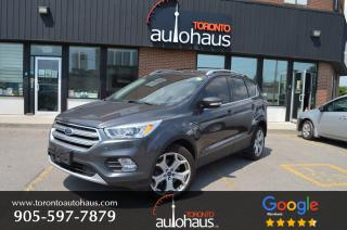 Used 2017 Ford Escape Titanium I NAVI I LEATHER I PANORAMIC for sale in Concord, ON