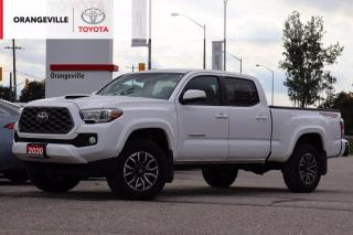 Used 2020 Toyota Tacoma ONLY 3000KM!!! TRD SPORT, 4X4, HOOD SCOOP, HEATED SEATS, NAVIGATION, ANDROID AUTO / APPLE CARPLAY for sale in Orangeville, ON