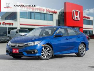 Used 2018 Honda Civic BACKUP CAM|HEATED SEATS|BLUETOOTH|ALLOYS for sale in Orangeville, ON