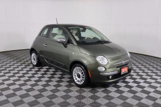 Used 2013 Fiat 500 Lounge LEATHER | HEATED SEATS | SUNROOF | LOCAL TRADE-IN | MANUAL for sale in Huntsville, ON