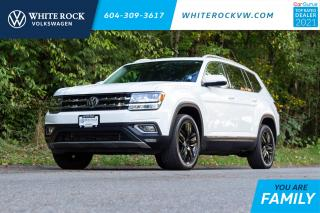 Used 2018 Volkswagen Atlas 3.6 FSI Execline * CAPTIAIN CHAIRS ** DIGITAL COCKPIT ** FENDER SPEAKERS ** for sale in Surrey, BC