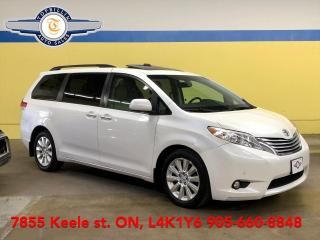 Used 2011 Toyota Sienna Limited AWD, Navi, Dual Roof, DVD, 2 Years Warrant for sale in Vaughan, ON