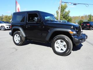 New 2021 Jeep Wrangler SPORT for sale in Trenton, ON